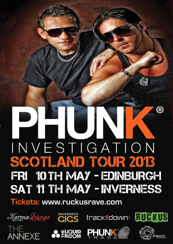 Phunk Investigation Scotland tickets