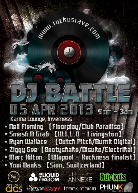 Phunk Investigation DJ battle